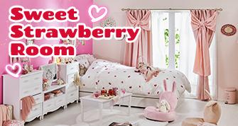 Sweet Strawberry Room