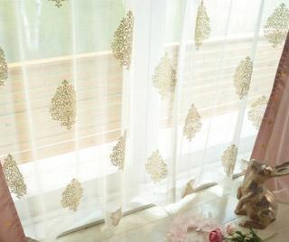 レースカーテン(100×176・2枚組)