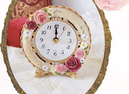 ロイヤルローズ置時計