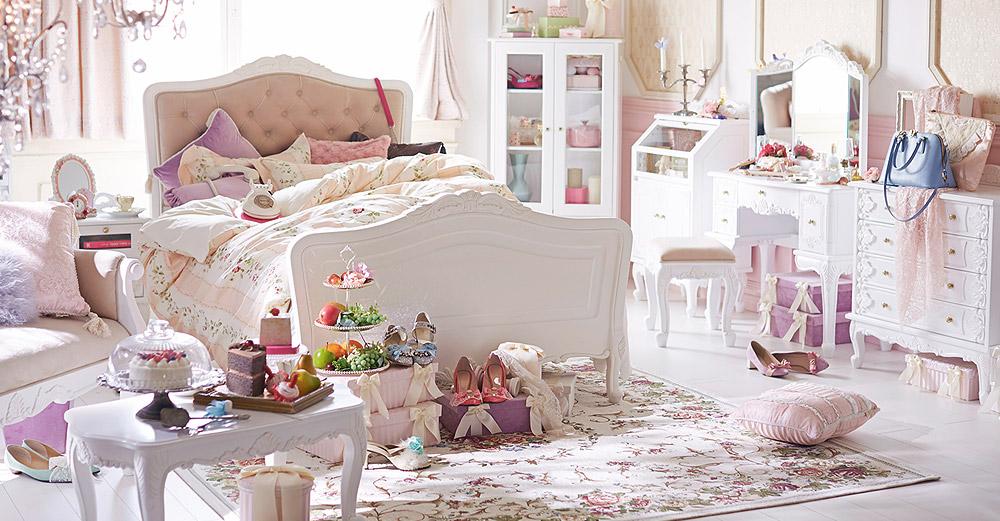 インスタグラムで話題!ロマンチックで可愛い♡姫部屋つくっちゃお