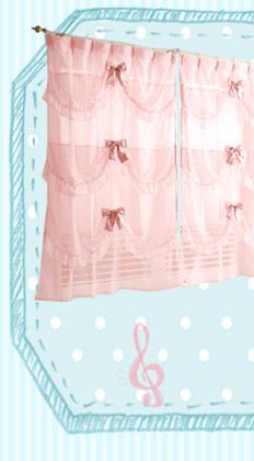 バルーンボイルカーテン(200×223・1枚)