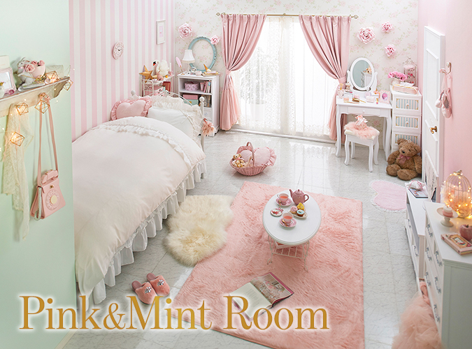 Pink&Mint Room